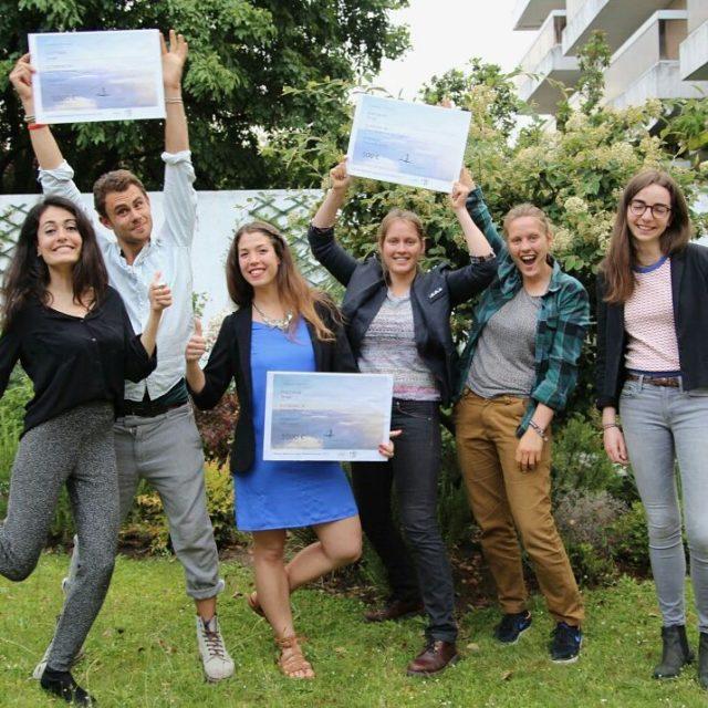 Hier ctait la crmonie des Jeunes Reporters pour lEnvironnement tudiantshellip